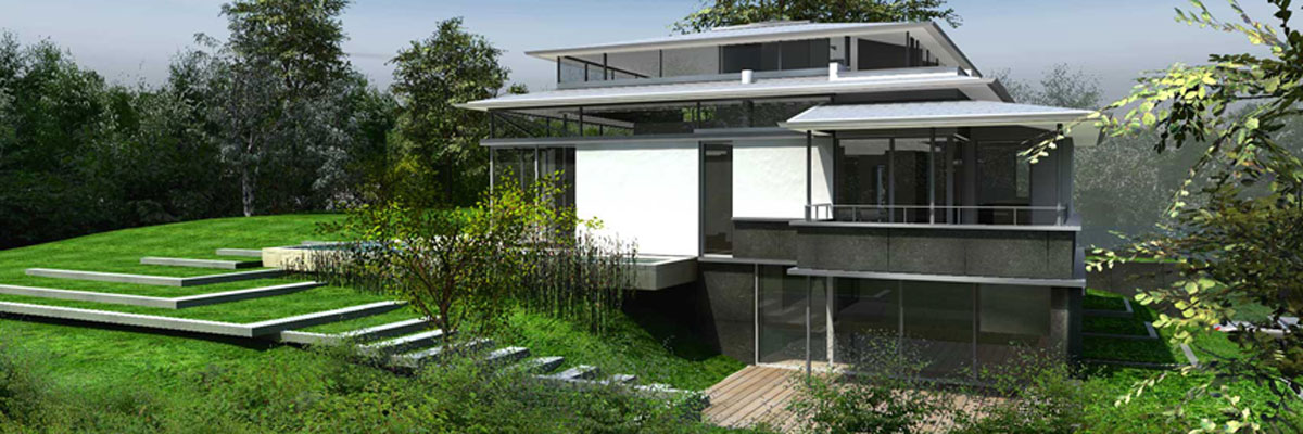 privathaus, starnberg   visualisierung 2006